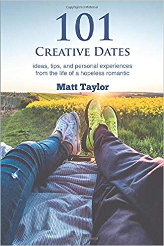 Shop 101 Creative Dates Book by Matt Taylor has a couple of feet side by side in back of truck