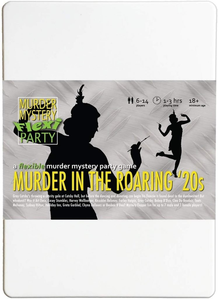 Shop Murder Mystery Dinner Party Roaring 20's