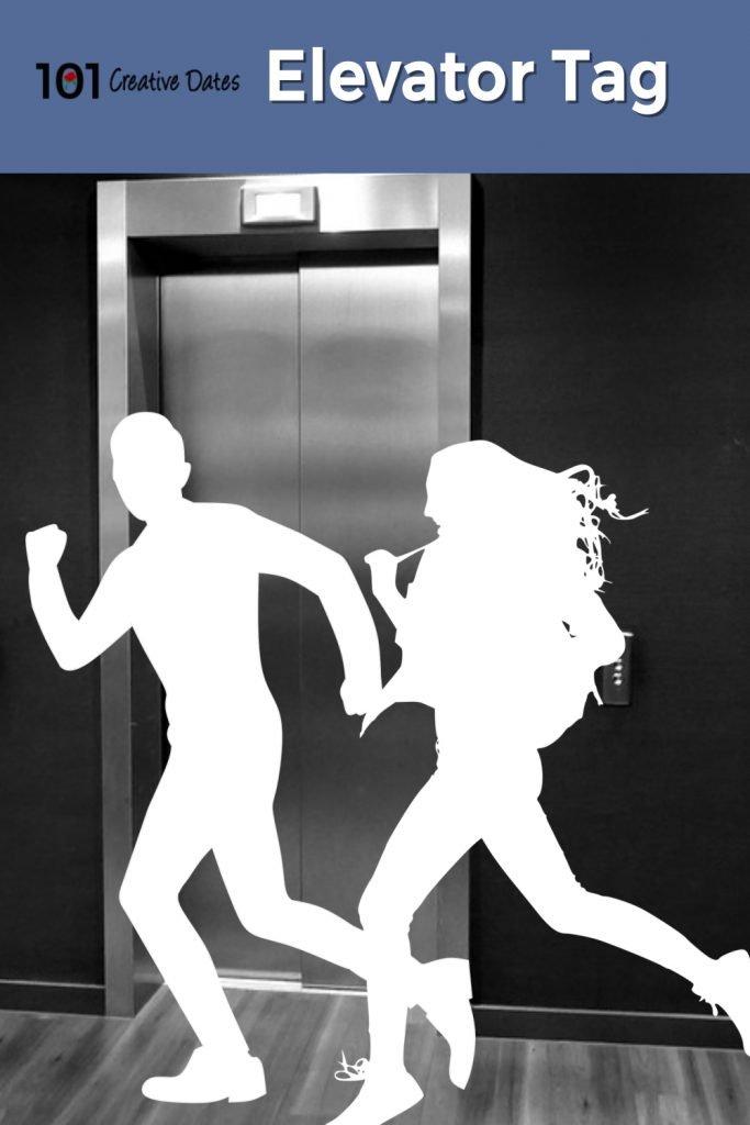 Creative date idea elevator tag.