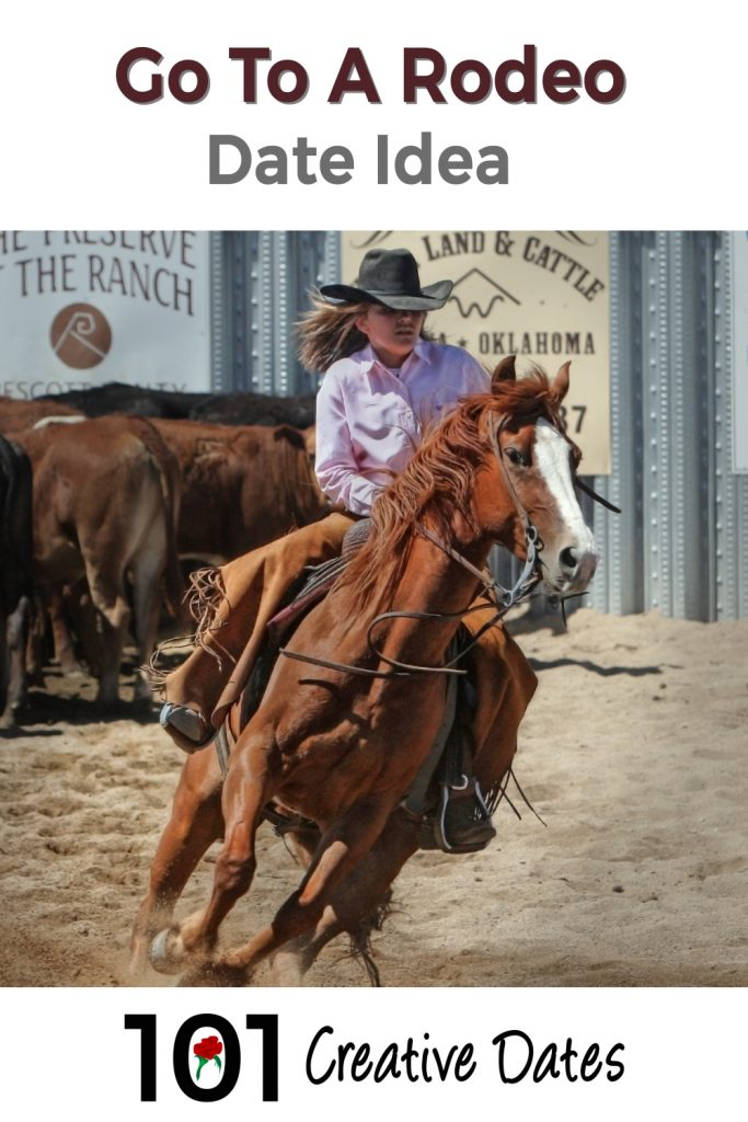 Go to a rodeo pin for Pinterest