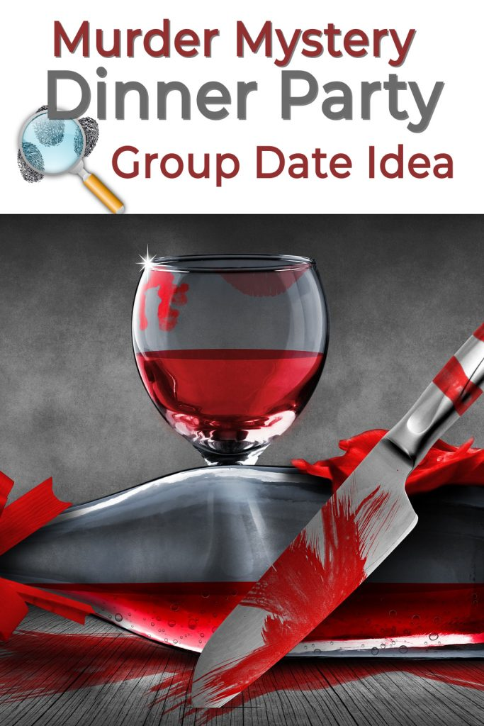 Murder mystery dinner party creative date idea