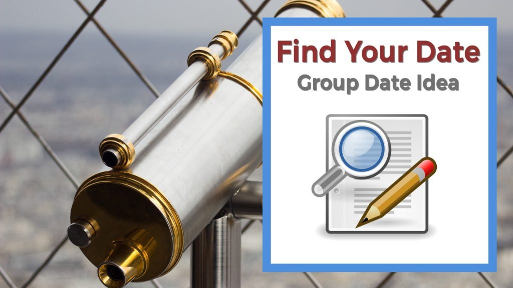 Telescope used to find your date and clues