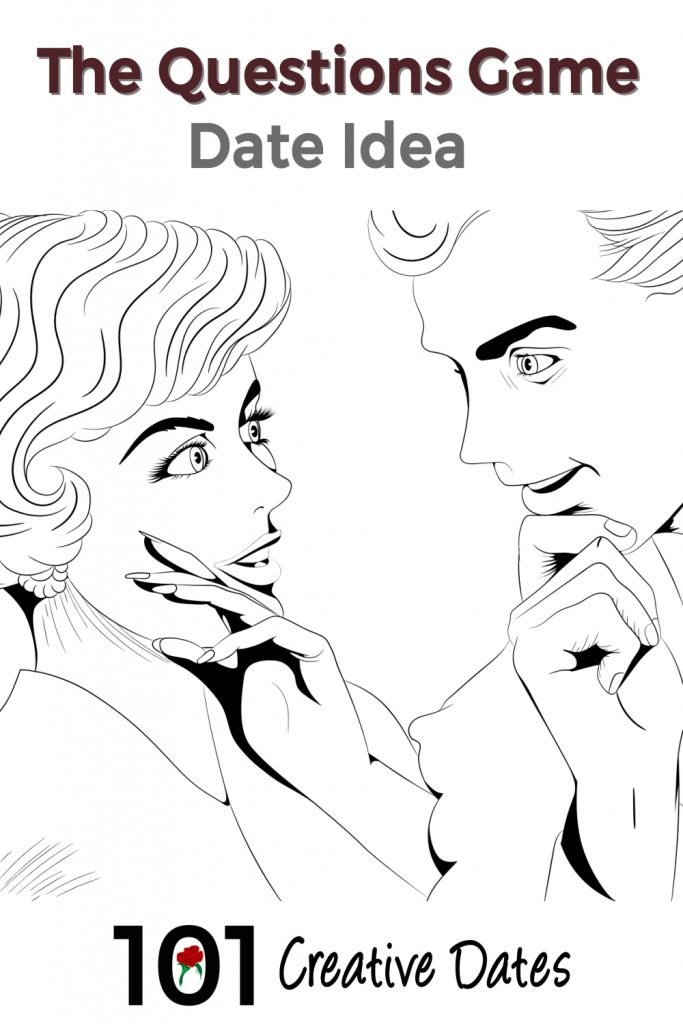 Man and woman speaking to each other.