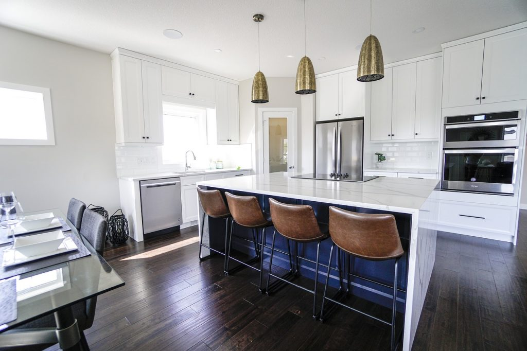 Large kitchen for a group date idea