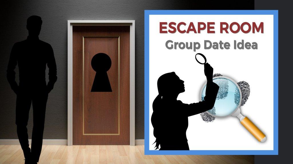 Escape room group date idea