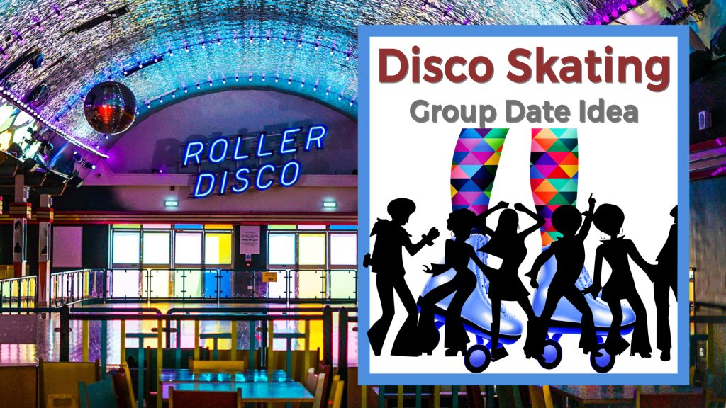 Disco skating group date idea