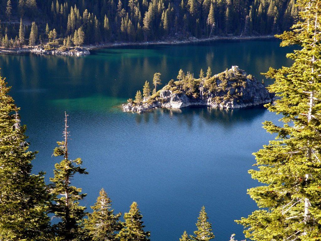 Lake Tahoe, a romantic getaway destination.