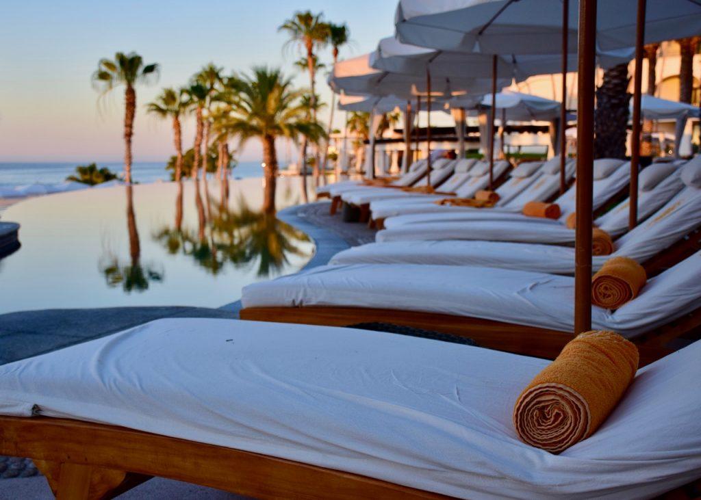 Day spa near the beach